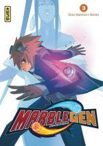 Marblegen Origines T3, manga chez Kana de Dos Santos, Grelin