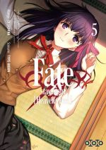Fate stay night [Heaven's feel] T5, manga chez Ototo de Type-moon, Taskohna