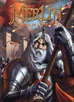Merlin - La quête de l'épée T2 : La Forteresse de Kunjir (0), bd chez Soleil de Istin, Demare, Cordurié
