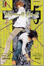 Death Note T5, manga chez Kana de Ohba, Obata