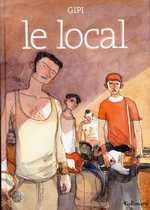 Le local, bd chez Gallimard de Gipi