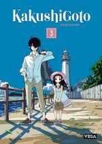 Kakushigoto T3, manga chez Vega de Kumeta