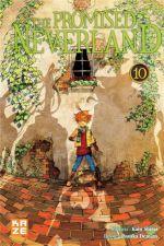 The promised neverland T10, manga chez Kazé manga de Shirai, Demizu