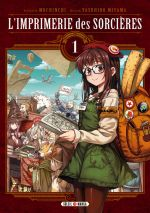 L'imprimerie des sorcières  T1, manga chez Soleil de Mochinchi, Miyama