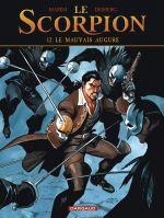 Le scorpion T12 : Le mauvais augure (0), bd chez Dargaud de Desberg, Marini