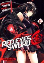 Red eyes sword - akame ga kill ! Zero  T10, manga chez Kurokawa de Takahiro, Toru