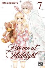 Kiss me at midnight T7, manga chez Pika de Mikimoto
