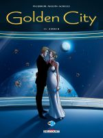 Golden city T13 : Amber (0), bd chez Delcourt de Pecqueur, Malfin, Schelle