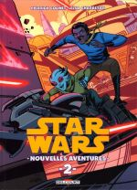 Star Wars Nouvelles Aventures T2, comics chez Delcourt de Colinet, Charretier, Stern