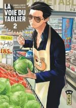 La voie du tablier  T2, manga chez Kana de Oono