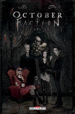 October faction T1, comics chez Delcourt de Niles, Worm, Zhermo