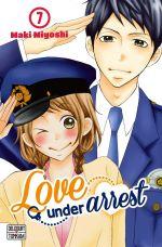 Love under arrest T7, manga chez Delcourt Tonkam de Miyoshi