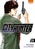 City Hunter rebirth T4, manga chez Ki-oon de Hôjô, Nishiki