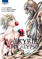 Valkyrie apocalypse T2, manga chez Ki-oon de Umemura, Ajichika