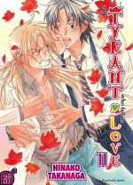 The tyrant who fall in love T11, manga chez Taïfu comics de Takanaga