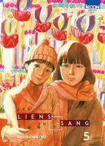 Les liens du sang T5, manga chez Ki-oon de Oshimi