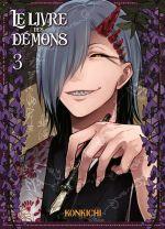 Le livre des démons T3, manga chez Komikku éditions de Konkichi