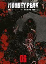 Monkey peak T6, manga chez Komikku éditions de Shinasaka, Kumeta