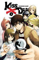 Kiss x death  T7, manga chez Delcourt Tonkam de Kano