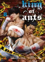King of ants T8, manga chez Komikku éditions de Tsukawaki, Itô