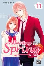 Waiting for spring T11, manga chez Pika de Anashin