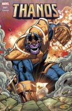 Thanos T1 : Sanctuaire zéro (0), comics chez Panini Comics de Howard, Cates, Landy, Olivetti, Shaw, Tan, Gracia, Fabela, Ramos, Dekal