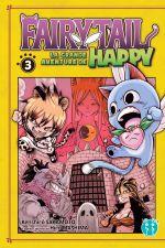 Fairy tail - La grande aventure de Happy  T3, manga chez Nobi Nobi! de Sakamoto