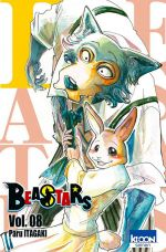Beastars T8, manga chez Ki-oon de Itagaki