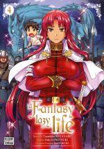 A fantasy lazy life  T4, manga chez Delcourt Tonkam de Watanabe, Hinotsuki, Ayakura