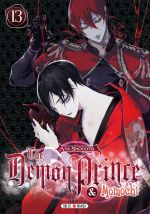 The demon prince & Momochi T13, manga chez Soleil de Shouoto