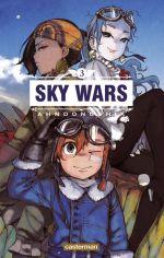 Sky wars T3, manga chez Casterman de Dongshik