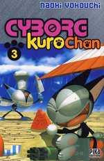 Cyborg Kurochan T3, manga chez Pika de Yokouchi