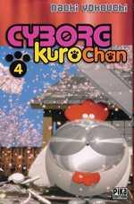 Cyborg Kurochan T4, manga chez Pika de Yokouchi