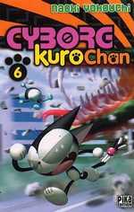 Cyborg Kurochan T6, manga chez Pika de Yokouchi
