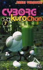 Cyborg Kurochan T7, manga chez Pika de Yokouchi