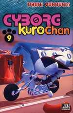Cyborg Kurochan T9, manga chez Pika de Yokouchi
