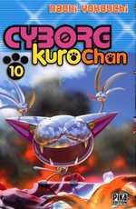 Cyborg Kurochan T10, manga chez Pika de Yokouchi