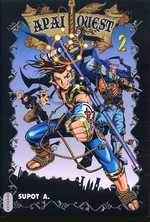 Apai quest T2, manga chez Milan de Factory studio, Supot A.