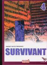 Survivant T4, manga chez Milan de Saïto