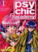 Psychic Academy T1, manga chez Pika de Aki