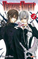 Vampire Knight T2, manga chez Panini Comics de Hino