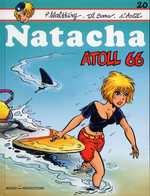 Natacha T20 : Atoll 66 (0), bd chez Marsu Productions de Walthéry, Cerise