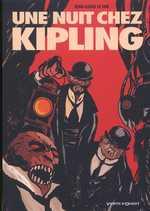 Une nuit chez Kipling, bd chez Vents d'Ouest de Le Hir