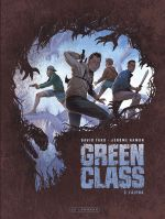 Green class T2 : L'Alpha (0), bd chez Le Lombard de Hamon, Tako