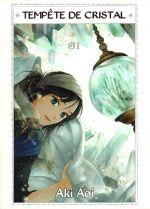 Tempête de cristal T1, manga chez Komikku éditions de Aoi