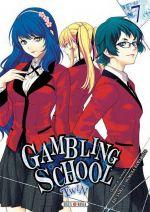 Gambling school twin T7, manga chez Soleil de Kawamoto, Saiki
