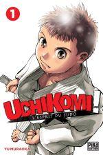 Uchikomi - L'esprit du judo T1, manga chez Pika de Muraoka