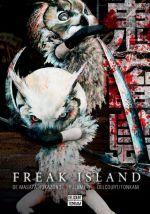 Freak island  T8, manga chez Delcourt Tonkam de Hokazono