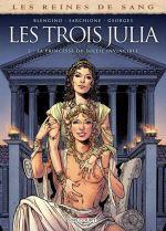 Reines de sang - Les trois Julia T2 : La princesse du soleil invincible (0), bd chez Delcourt de Blengino, Sarchione, Georges