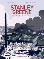Stanley Greene, une vie à vif, bd chez Delcourt de Morvan, Fillaire